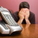 A man fears a phone call