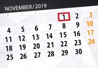 Важные изменения законодательства с 1 ноября 2019 года в России