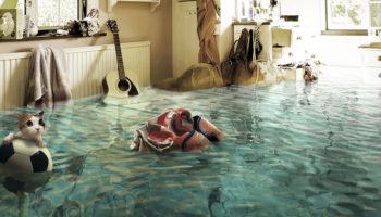 компенсировать ущерб при заливе квартиры