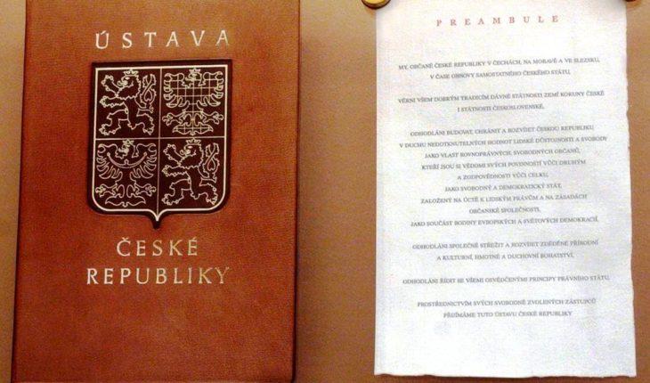 ЧЕХИЯ – Конституция (президент республики)