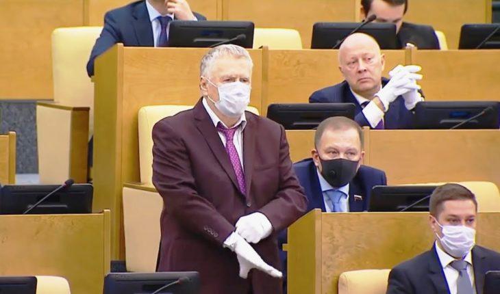 Жириновский предложил сократить число депутатов