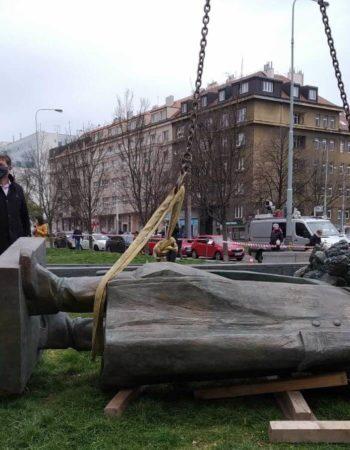 Снос памятника маршалу Коневу в Праге. О чем умалчивают СМИ