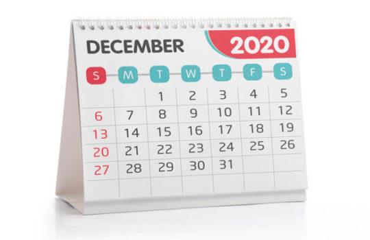 Законы, вступающие в силу в декабре