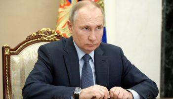 Совещание Владимира Путина с членами Правительства