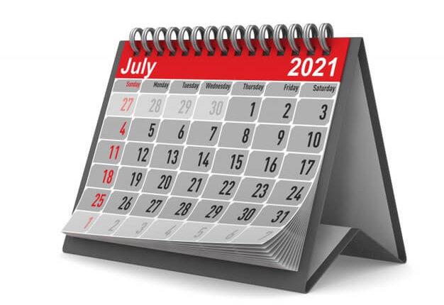 Законы, вступающие в силу с 1 июля